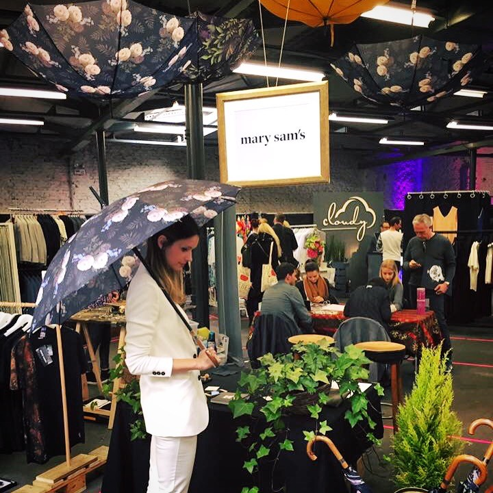 Regenschirme Pop Up Store Mary Sam's