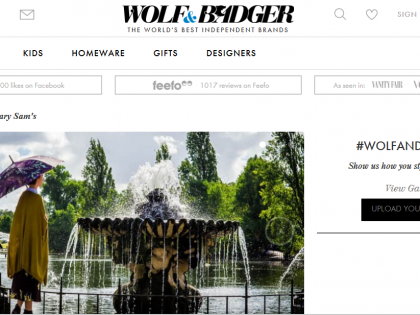 Mary Sam's Debut in UK bei Wolf & Badger